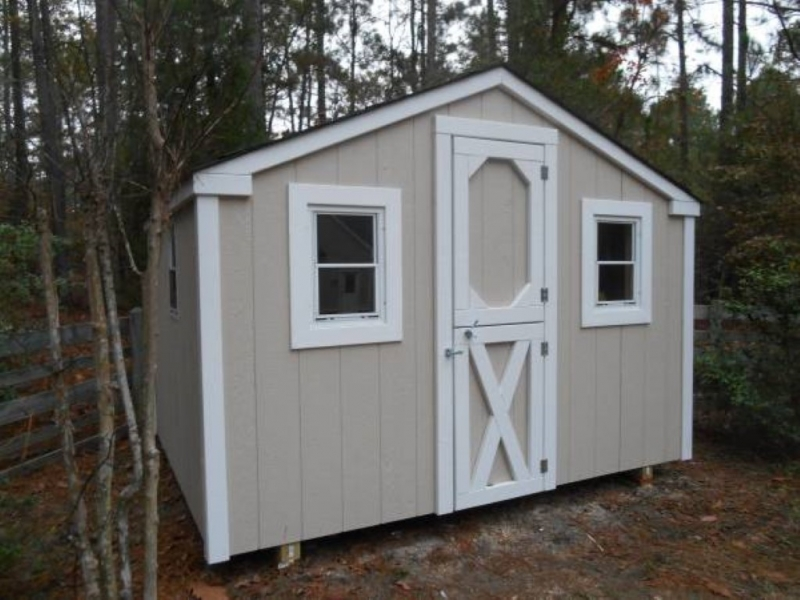 Gable 8x10 foot playhouse