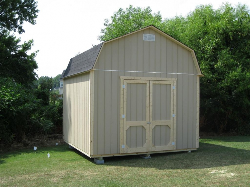 Outdoor shed installation for Garden shed installation