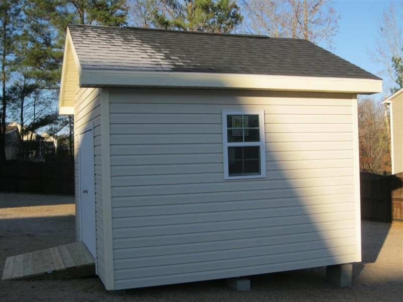 legacy 12x12 shed  with vinyl siding