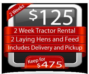 Tractor Coop Rental